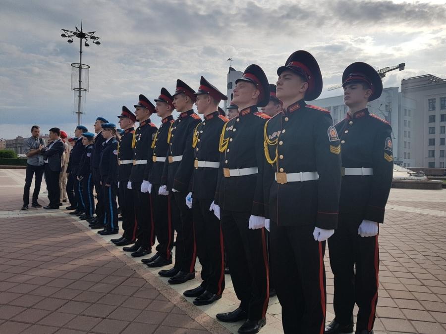 Успехи северских кадет в Республике Беларусь