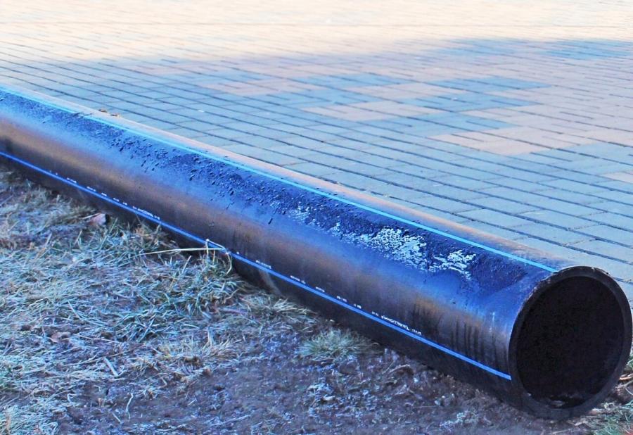 «Северский водоканал» проводит замену участка водопровода
