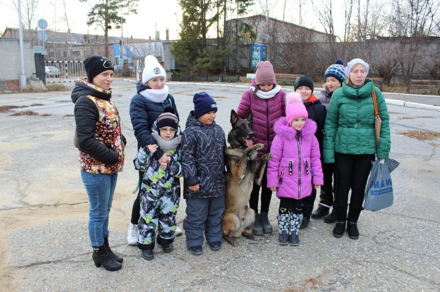 В преддверии Дня сотрудника органов внутренних дел сотрудники ГИБДД провели увлекательную экскурсию для особенных детей