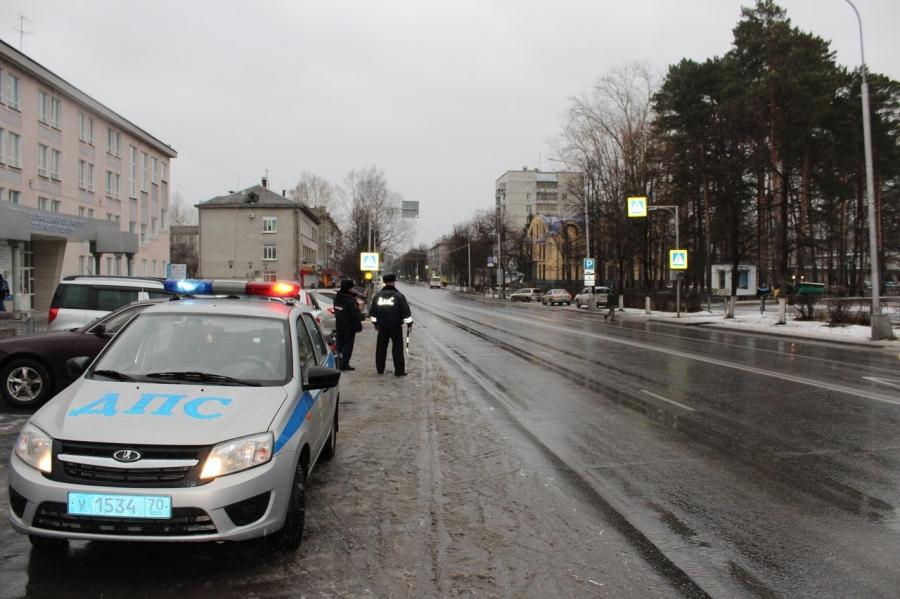 Сотрудники Госавтоинспекции провели мероприятие «Пешеход, пешеходный переход»