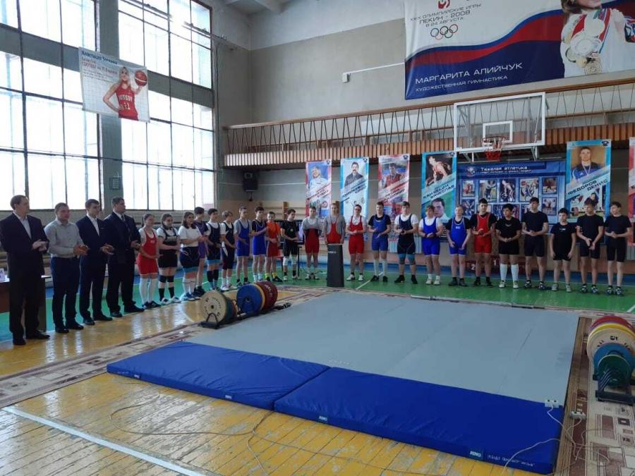 Победы северчан на Первенстве по тяжёлой атлетике