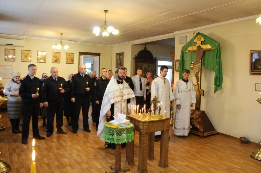 Сотрудники Госавтоинспекции приняли участие в молебне, посвященном Всемирному Дню памяти жертв ДТП