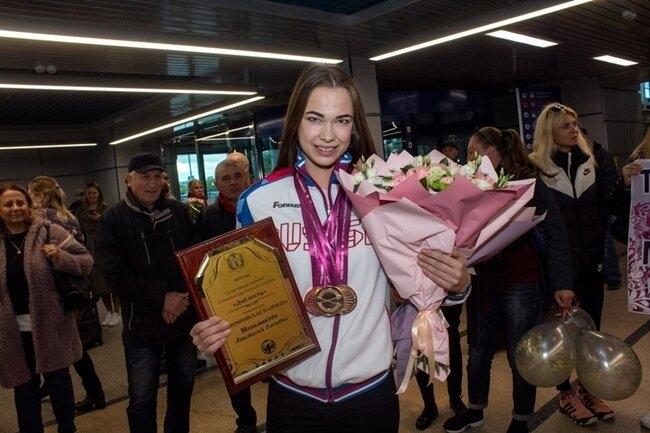 Северчанке Анастасии Шишмаковой присвоили звание заслуженного мастера спорта России