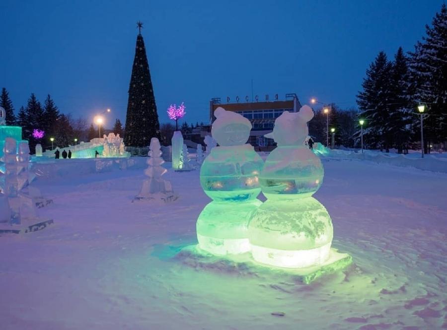 В Северске начались подготовительные работы к строительству ледового городка