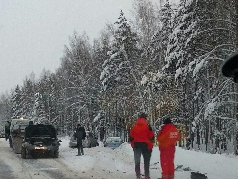 За минувшие выходные зарегистрировано 3 дорожно-транспортных происшествия