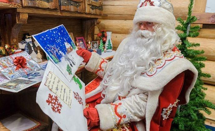 Почта Деда Мороза начала работать в почтовых отделениях Томской области