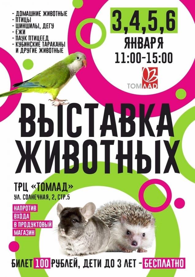 Выставка животных!