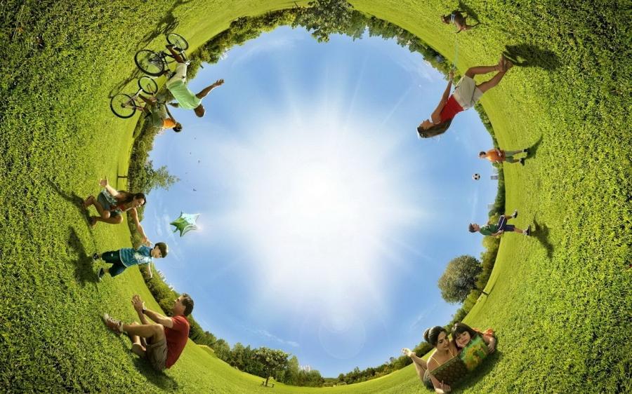 Прекрасный мир – счастливые люди