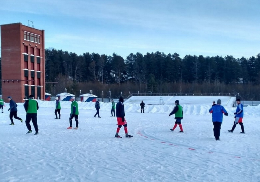 Расписание игр Первенства ЗАТО Северск по зимнему футболу