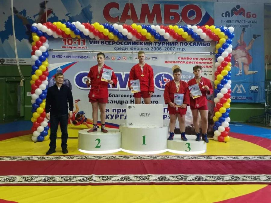 Успехи северчан на соревнованиях по самбо в честь благоверного князя Александра Невского