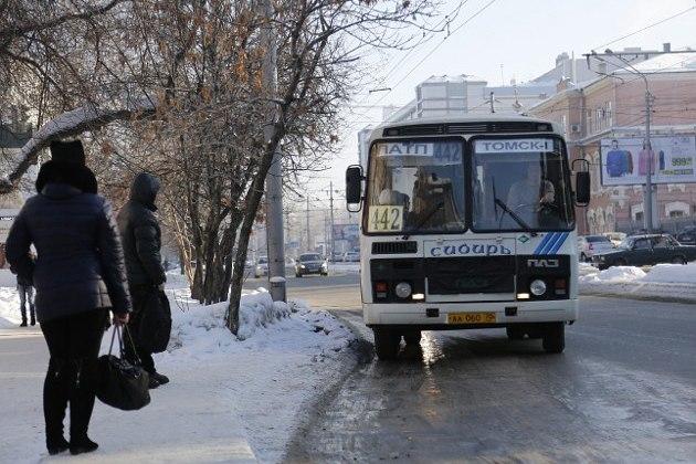 """Три автобуса №442 по утрам будут """"стартовать"""" с Большой Подгорной в Томске"""