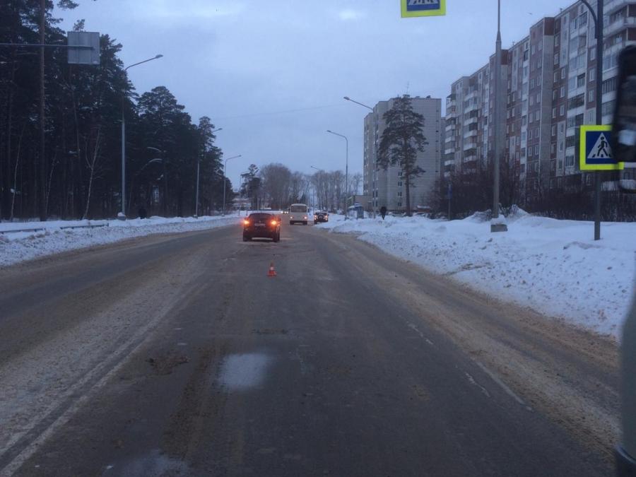 Сегодня утром на улице Ленинградской сбили женщину