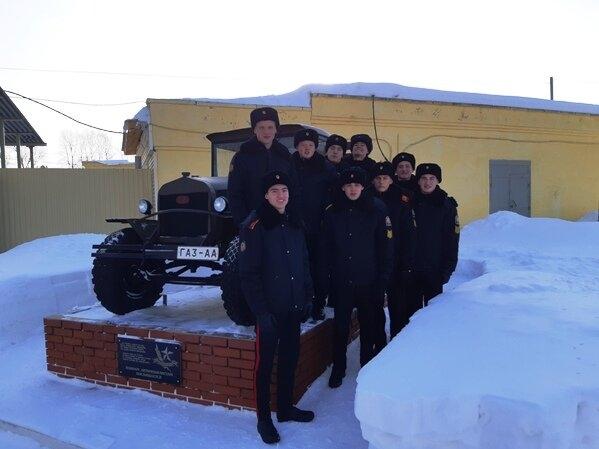 Кадеты посетили воинскую часть № 3481