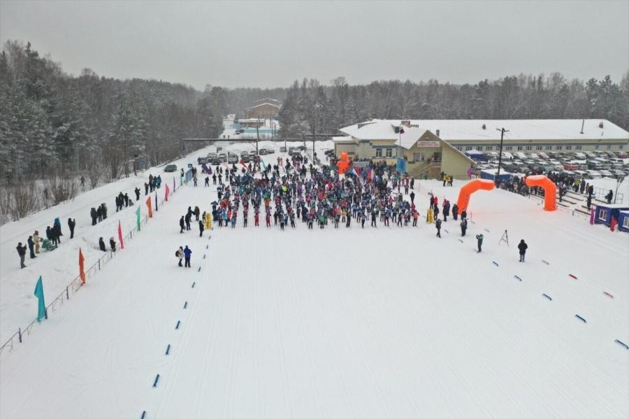Победители «Лыжни России»