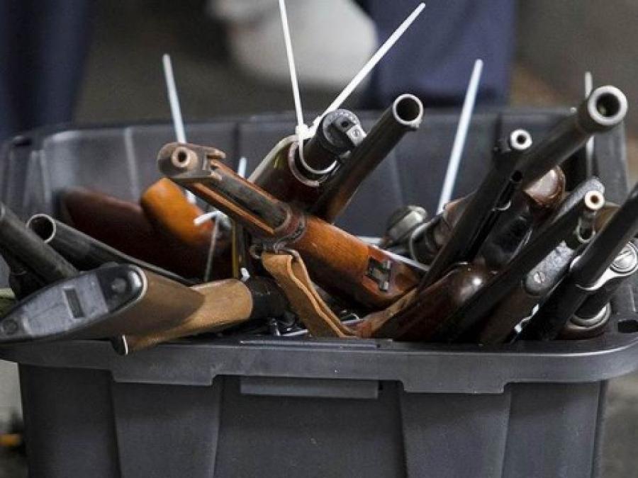 Жители Томской области сдали правоохранителям 137 единиц оружия
