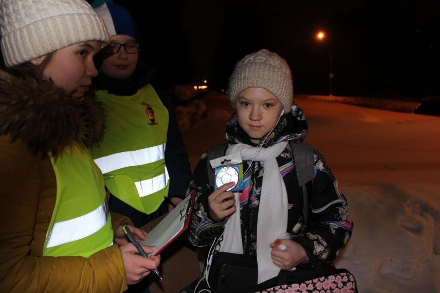 В Северске сотрудники Госавтоинспекции провели акцию «Засветись»