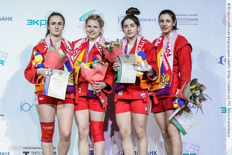 Северчанка завоевала «серебро» на чемпионате России по самбо
