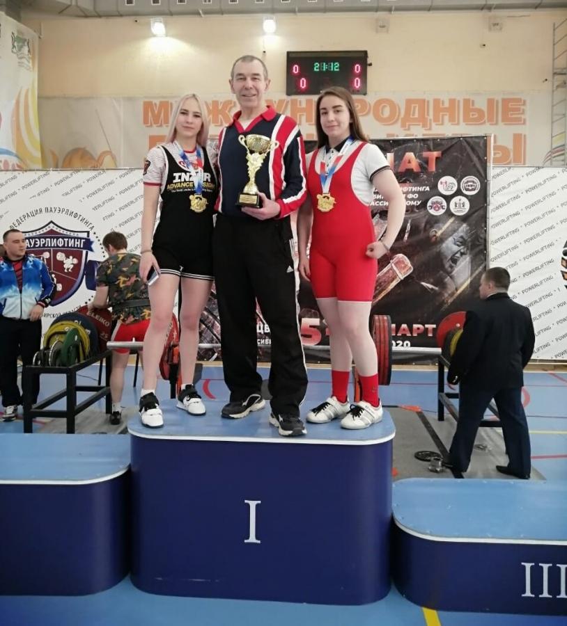 Золотые медали Инны Середенко и Ксении Шутовой