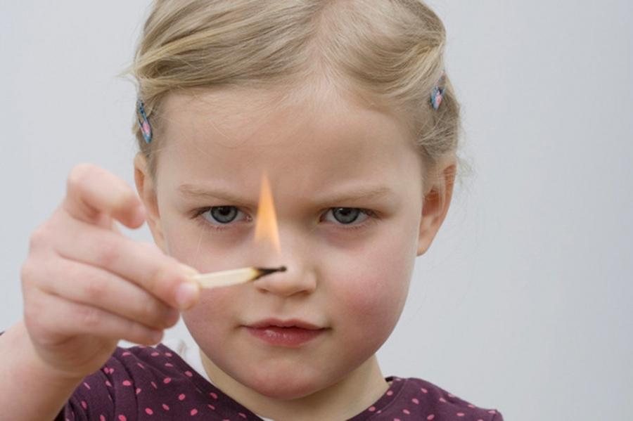 Дети и пожар. Будьте осторожны, взрослые!