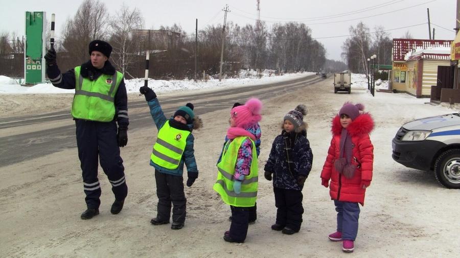 На территории Томской области стартовала Декада детской дорожной безопасности