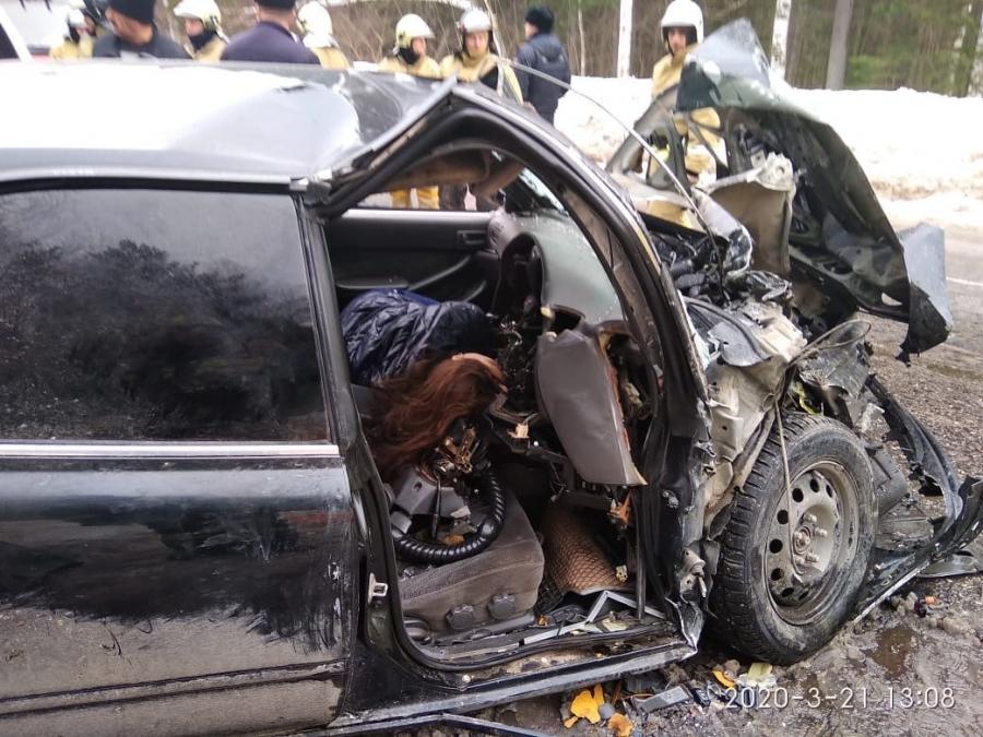 Авария со смертельным исходом - видео с места событий