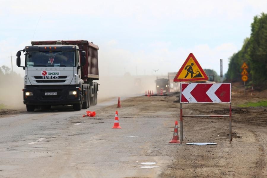 В весенний период на автодорогах Томской области ограничат движение большегрузов