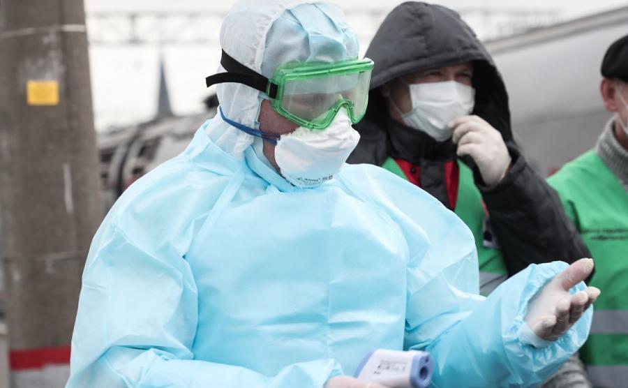 Власти: томские медработники защищены от опасности заражения COVID-19