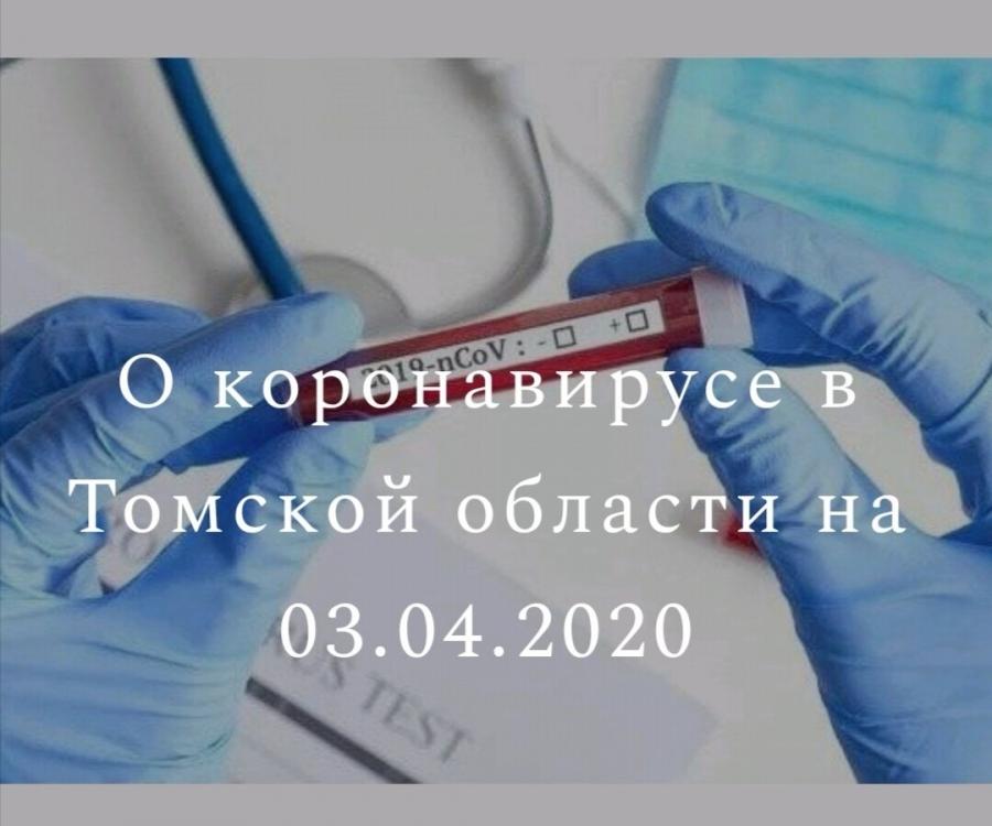 Новых подтвержденных диагнозов на COVID-19 в Томской области нет