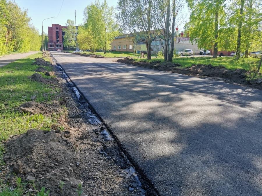 Северск раньше срока отремонтировал улицу Ленина