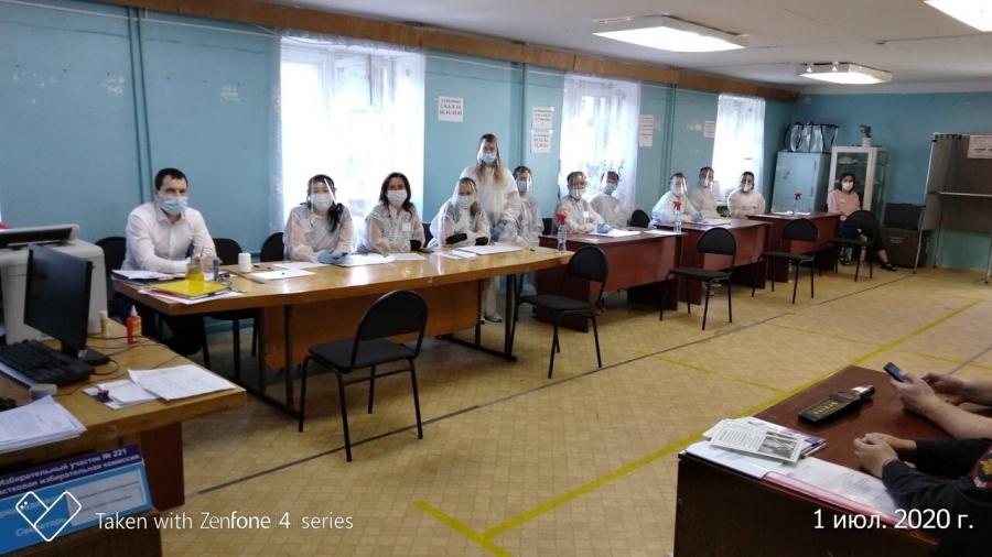 Явка на голосование в Северске составила 51,53%