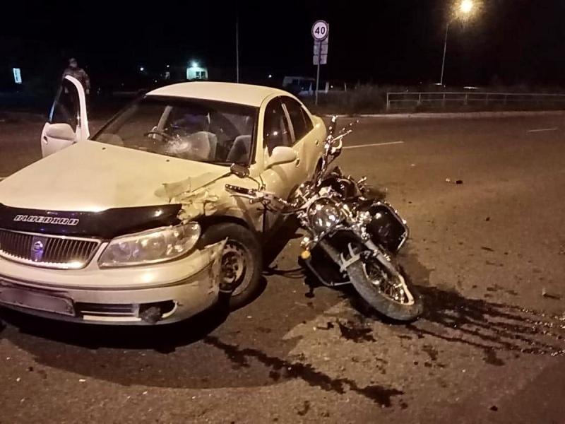 35-летний мотоциклист оказался в больнице после субботнего ДТП