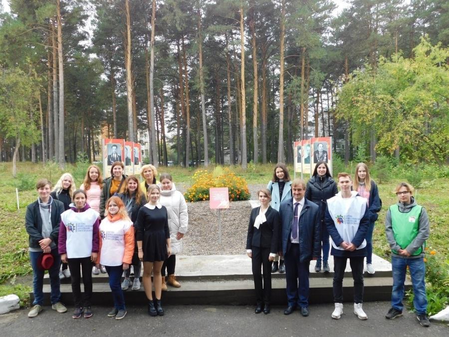 На территории СПК открылась Аллея памяти в честь 75-летия Победы в ВОВ