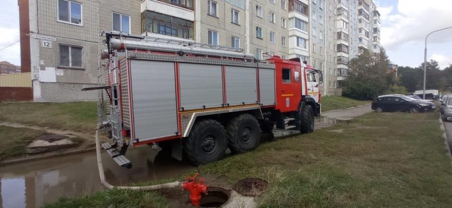 На пожаре в десятиэтажном жилом доме спасено 5 человек