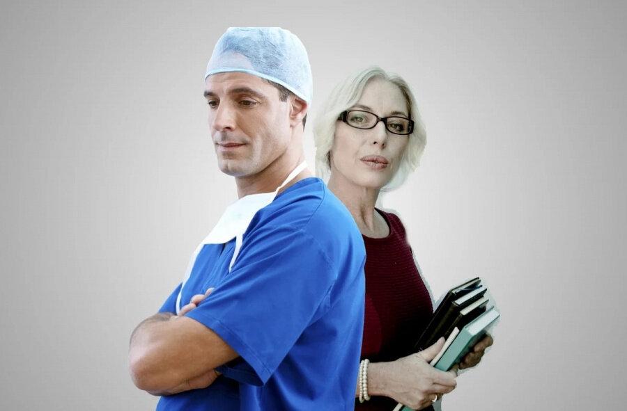 Медики и педагоги: право на пенсию