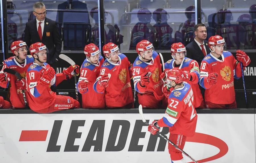 Северчанин Захар Бардаков в Сборной России по хоккею