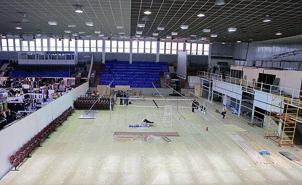 Губернатор принял решение открыть респираторный госпиталь на базе Дворца спорта