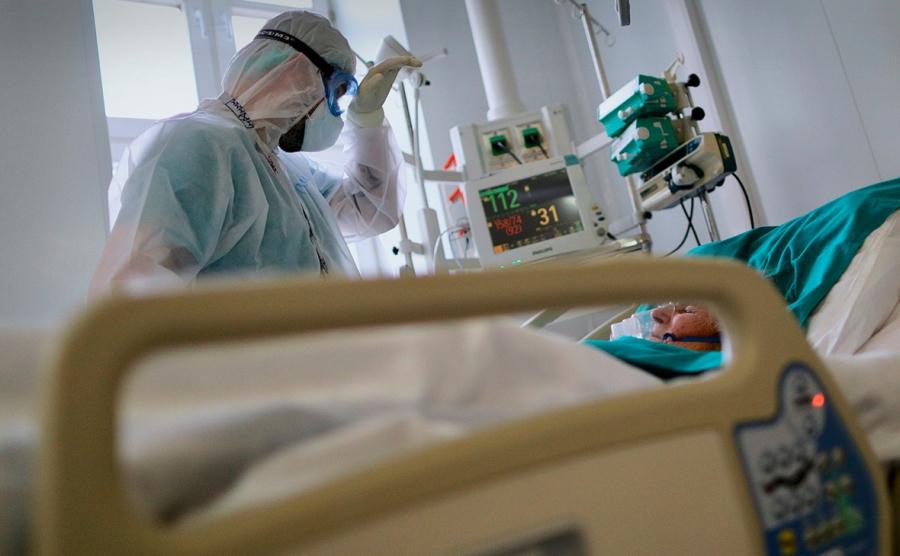 В инфекционном отделении находятся 138 пациентов с COVID-19