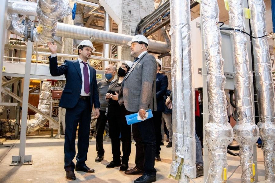 В северской ТОР открылось производство азотных удобрений