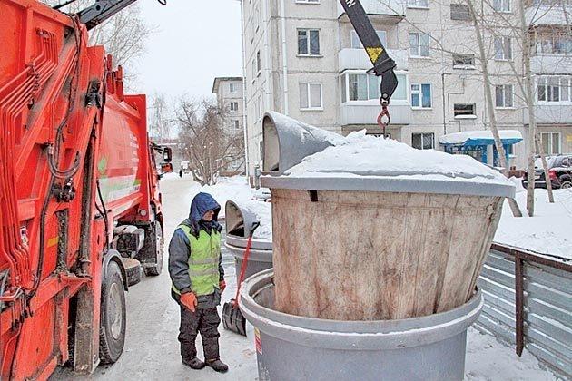 В праздники вывоз твердых коммунальных отходов будет производиться ежедневно