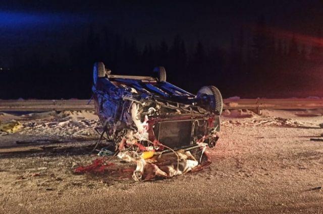 Женщина-водитель погибла в ДТП с КАМАЗом возле Зоркальцево