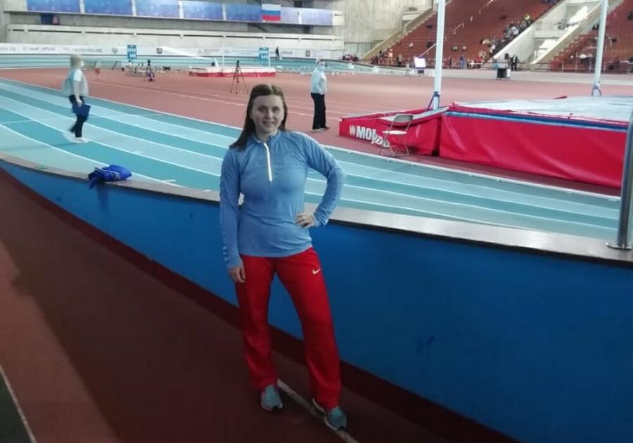 Дарья Лунева принимает участие в Чемпионате России по легкой атлетике