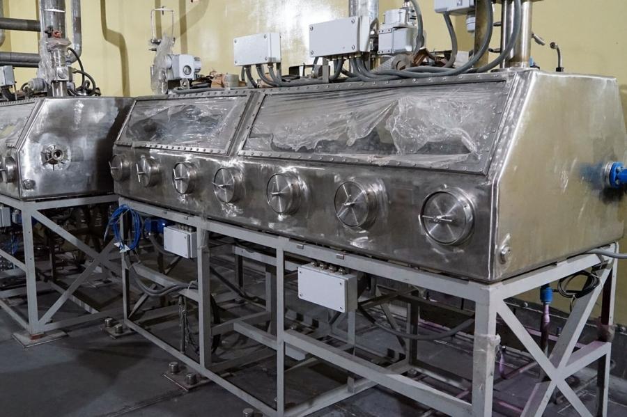 СХК приступил к установке основного оборудования модуля по производству СНУП-топлива