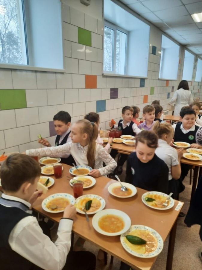 Мэр проверил организацию горячего питания в школах