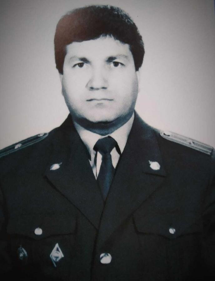 В преддверии празднования Дня защитника Отечества полицейские вспоминают своего коллегу - героя Фарзалиева Атабалу