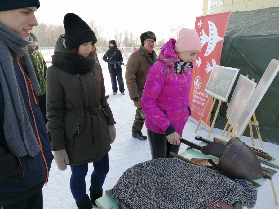 Студенты СПК приняли участие в военно-патриотическом мероприятии, посвященном подвигу русских десантников