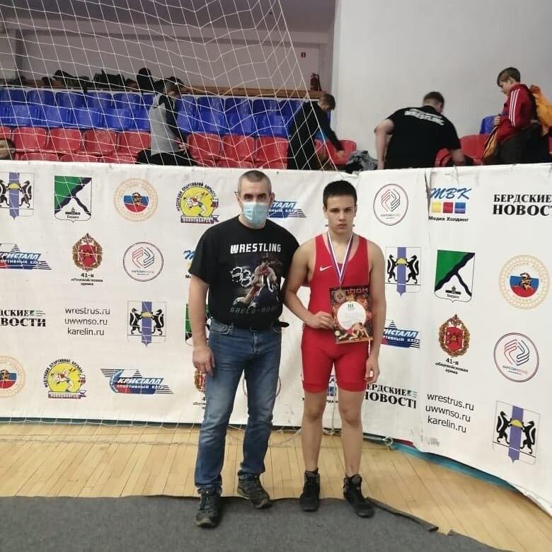 Александр Дудкин отправится на Первенство России по спортивной борьбе