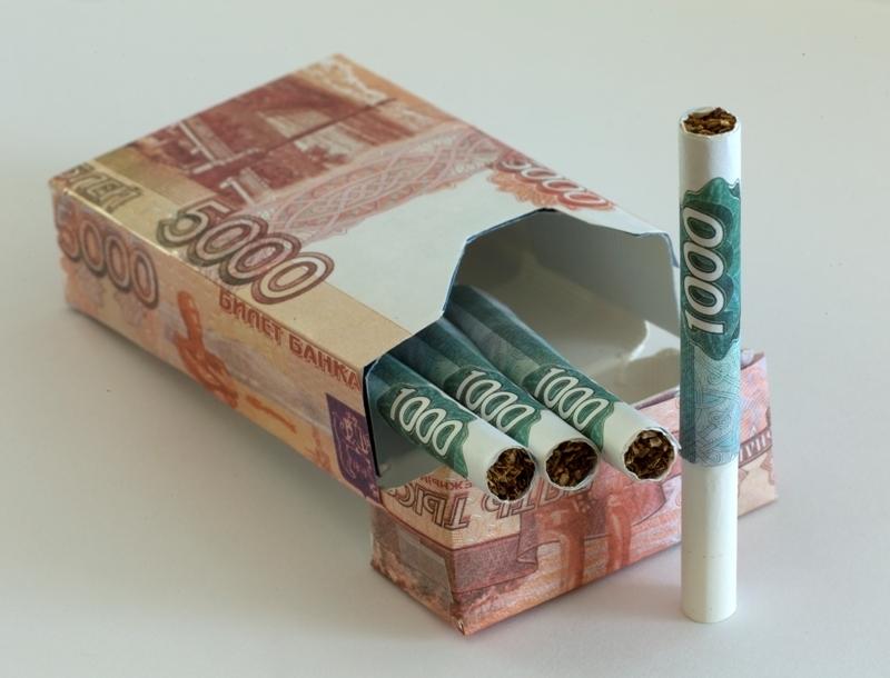 В России с 1 апреля ввели минимальную цену на сигареты
