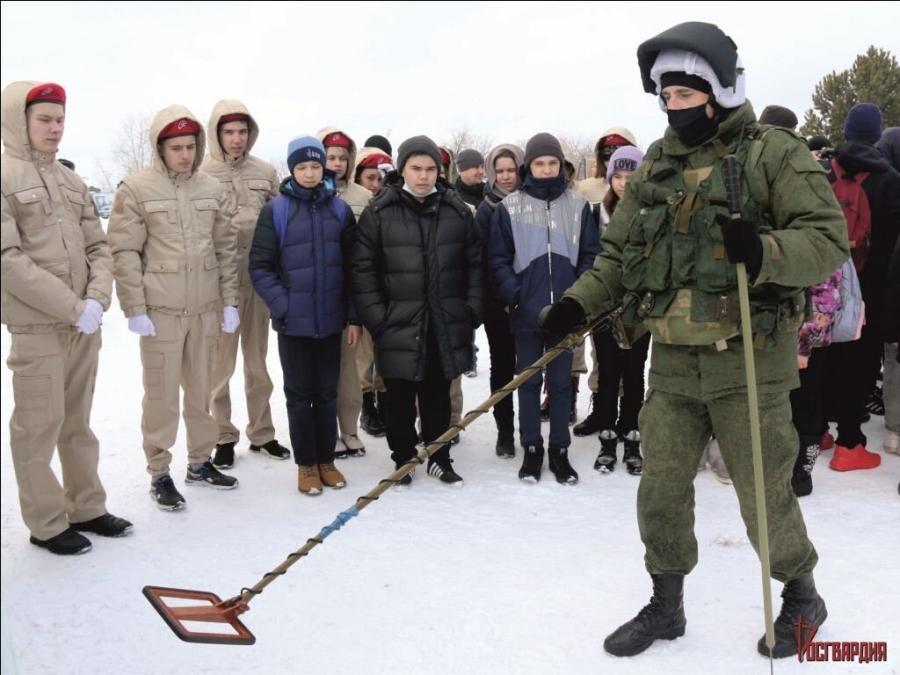 В воинской части прошел День открытых дверей