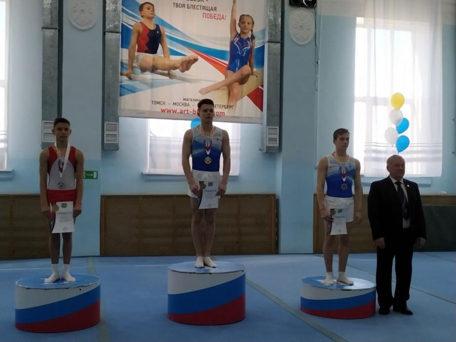 Победы северчан на соревнованиях по спортивной гимнастике «В краю кедровом»