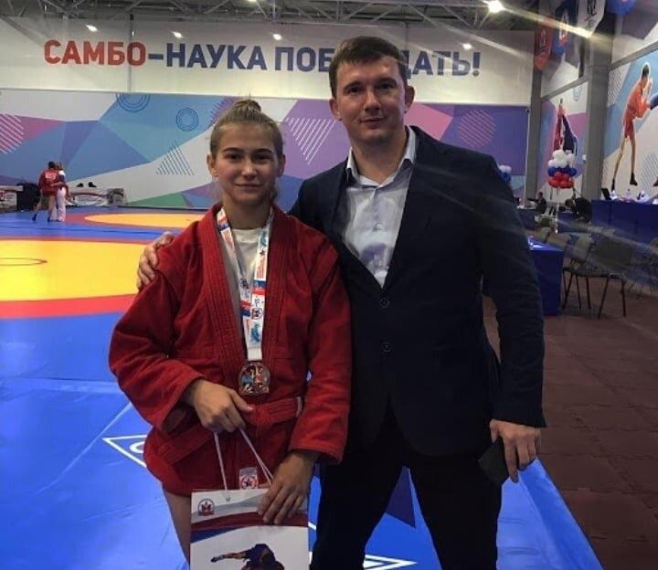 Бронзовая медаль Анастасии Горбуновой